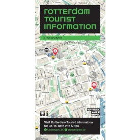 Flyer Rotterdam Tourist Information 'Find us here' ENG
