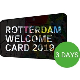 Rotterdam Welcome Card 2019 - 3 dagen